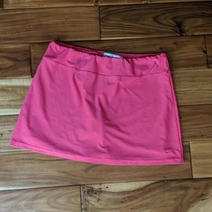 Nike athletic fit dry skirt shorts